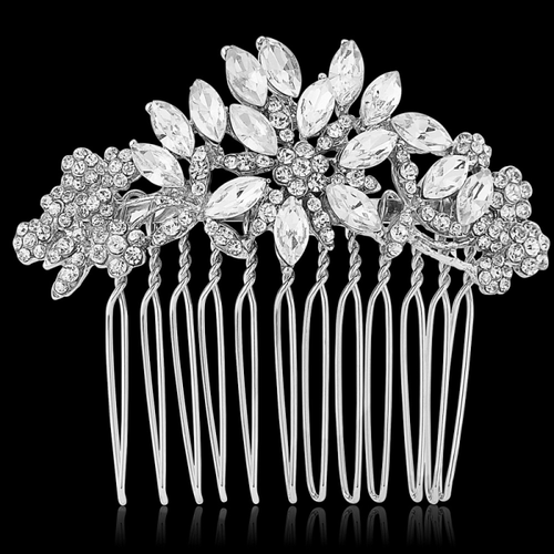 Crystal Starlet Hair Comb