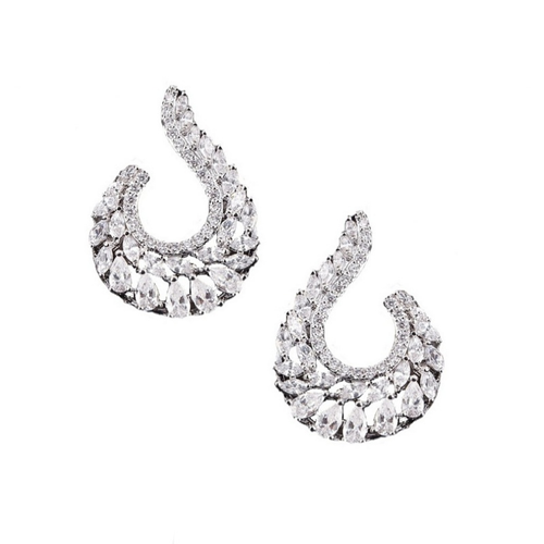 Cubic Zirconia Collection - Exquisite Starlet Earrings