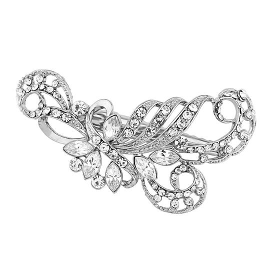 Enchanting Beauty Hair Clip - Silver