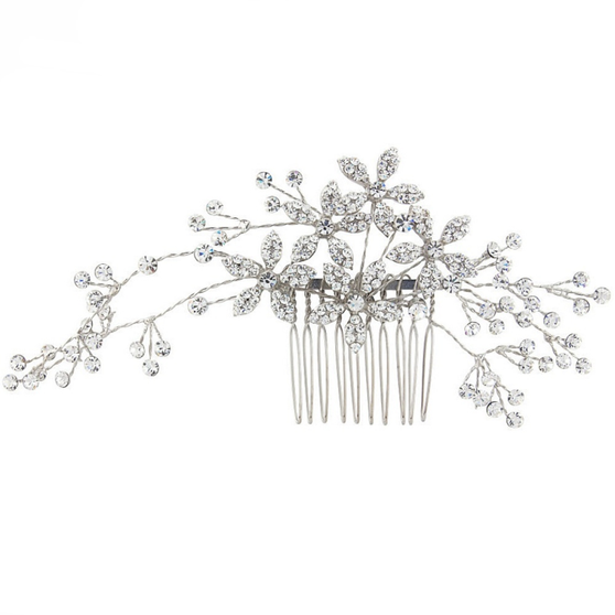 Sparkly Crystal Extravagance Comb