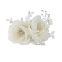 Blossom Headpiece - Luxe Crystal Hair Comb - Ivory