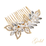 Pearl Shimmer Comb- Gold