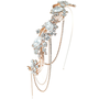 Elite Collection - Bejewelled Gatsby Style Headband - HDB311 Rose Gold