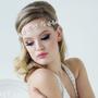 Marielle - Pearl Garland Headpiece - Ivory