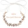 Rose Gold Opulence Floral Hair Vine - HP136