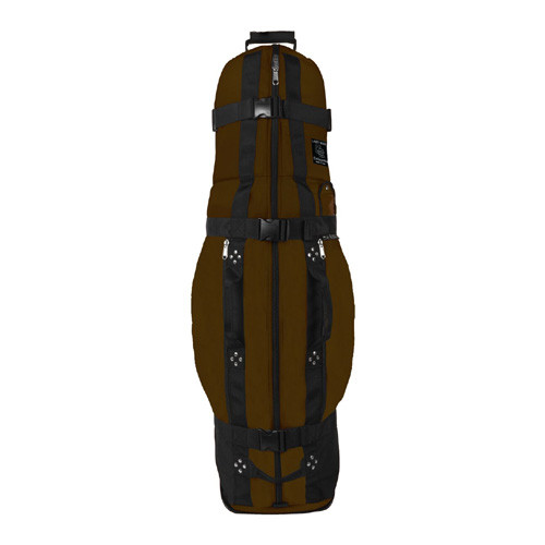 Club Glove Collegiate Golf Travel Bag - Mocha/Black