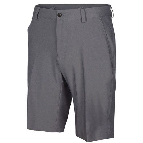 New Men's Greg Norman ML 75 Microlux Shorts - Steel - G759H902