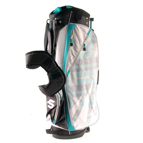 New Strata Ultimate Stand Bag (Black / White / Green)
