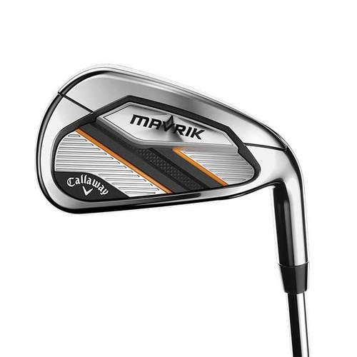 Callaway Mavrik Iron Set 5-PW,AW w/ Elevate 95 R-Flex Steel Shafts RH
