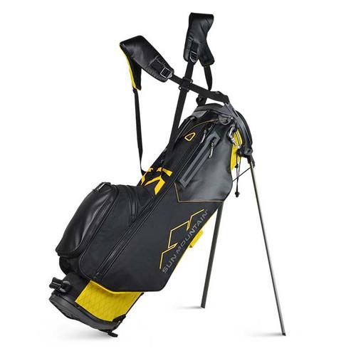 New Sun Mountain VX Stand Bag - (Yellow / Black)