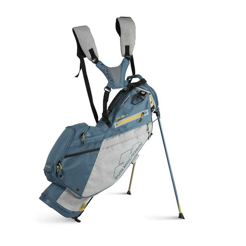 New 2022 Sun Mountain 4.5 LS Stand Bag - (Charcoal / Spruce / Aztec)