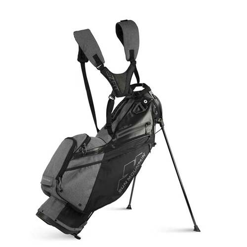 New 2022 Sun Mountain 4.5 LS Stand Bag - (Black / Carbon)