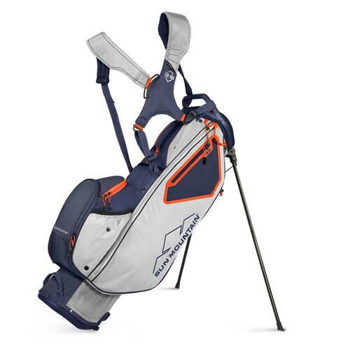 Sun Mountain 2022 3.5 LS Stand Bag - Cement / Navy / Inferno