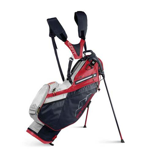 New 2022 Sun Mountain 4.5 LS Stand Bag - (Navy / White / Red)