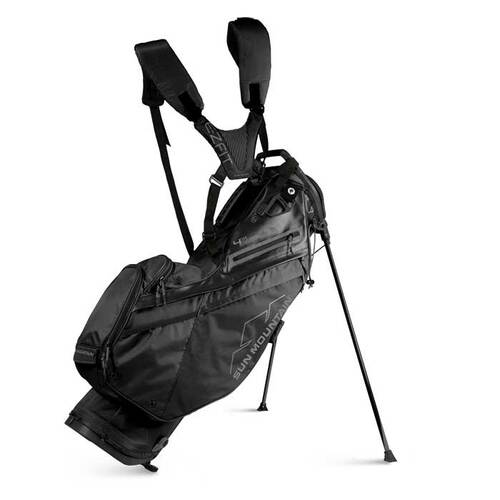 New 2022 Sun Mountain 4.5 LS 14-Way Supercharged Stand Bag - Black