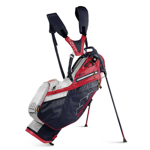 New 2022 Sun Mountain 4.5 LS 14-Way Supercharged Stand Bag - Navy / White / Red