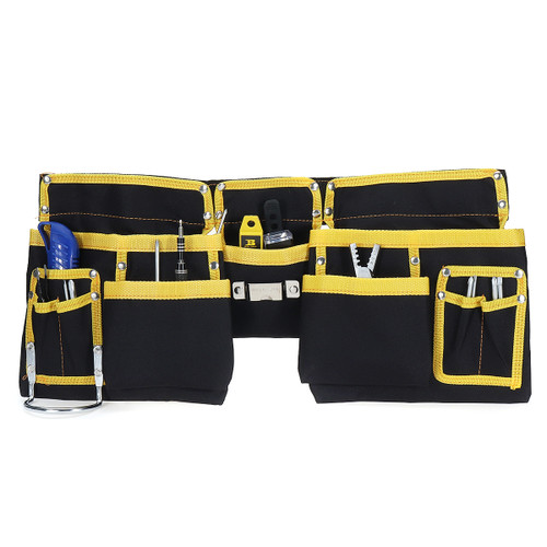 Multi-functional Electrician Oxford Cloth Tool Bag Waist Pouch Belt Storage Bag