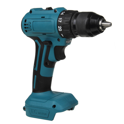 Dual Speed Brushless Electric Drill 10/13mm Chuck Rechargeable Electric Screwdriver for Makita 18V Battery