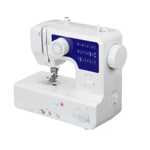Mini Desktop Electric Sewing Machine 12 Stitches Household Tailor DIY Clothes