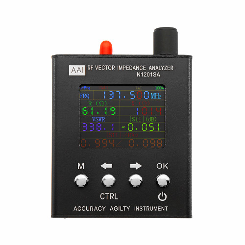 N1201SA UV RF Vector Impedance ANT SWR Antenna Analyzer Meter Tester 140MHz - 2.7GHz