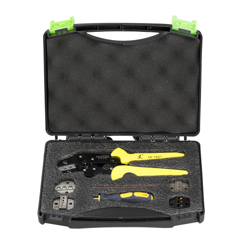 Paron JX-D5 Multifunctional Ratchet Crimping Tool Wire Strippers Terminals Pliers Kit
