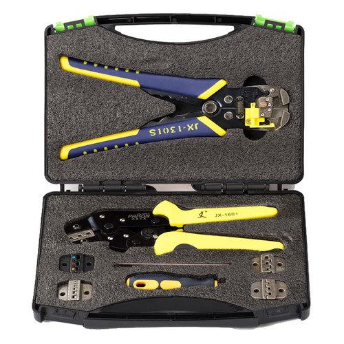 Paron JX-D5301 Multifunctional Ratchet Crimping Tool Wire Strippers Terminals Pliers Kit