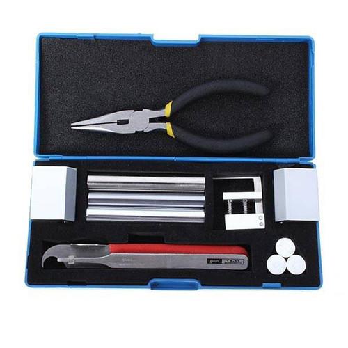 DANIU Professional 12 in 1 Lock Disassembly Tool Locksmith Tools Kit Remove Lock Repairing pick Set