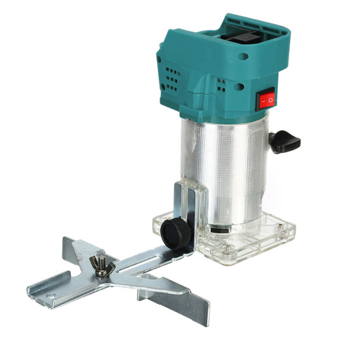 """850W 6.35mm 1/4 Cordless Handheld Electric Trimmer Woodworking Palm Router Laminate Trimming Machine For Makita 18V Battery"""""""