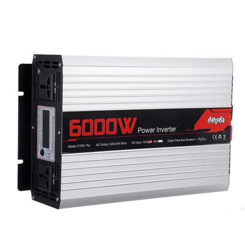 Mensela IT-PS1 Pro 220V 50HZ Intelligent Screen Solar Pure Sine Wave Power Inverter 2200W/3000W/4000W/5000W/6000W/7000W DC 50HZ 12V/24V To AC 220V Converter