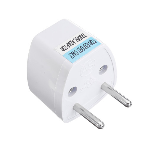 EU European Portable Power Adapter Plug Converter Socket Mini For Phone/Computer/Camera