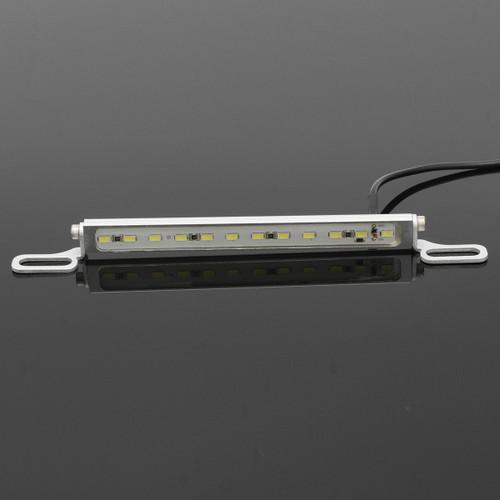 Car Truck Xenon White 12 SMD LED License Plate Light 12V DC Screw Bolt-On