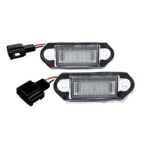 LED License Number Plate Rear Lights Bulb for VW Golf MK3 Skod