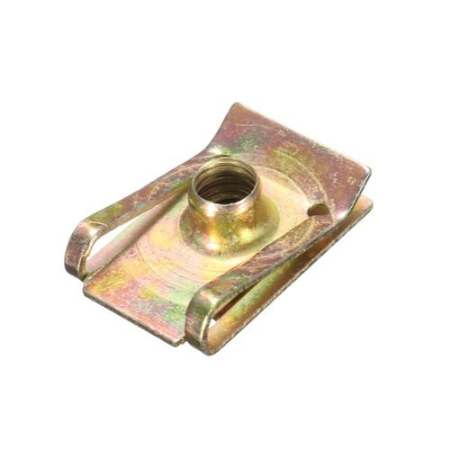 M6 6mm Tread Panel Spire Nut Fairing Clip Fastener Speed Zinc Mounting Clamp