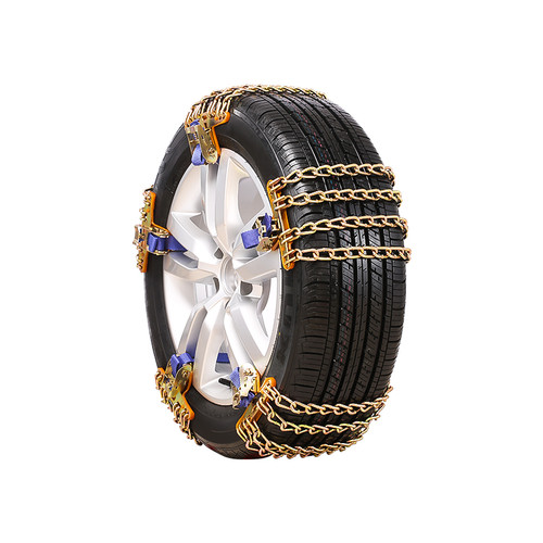 Anti-skid Chain Wear-resistant Steel Car Snow Chains For Ice Snow Mud Road Safe