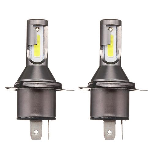 Pair M4 H4 55W 1800LM Bi-Xenon Hi/Lo Car LED Headlights Conversion Kit CSP Lamp White