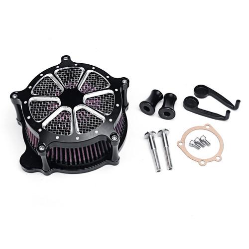 Motorcycle Air Cleaner Intake Filter For Harley Motor 93-2007