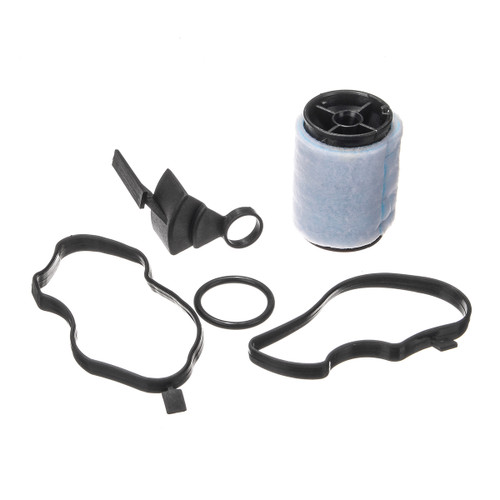 Oil Filter Valve With Gaskets Crankcase Ventilation Breather Separator For BMW E90 E39 E60