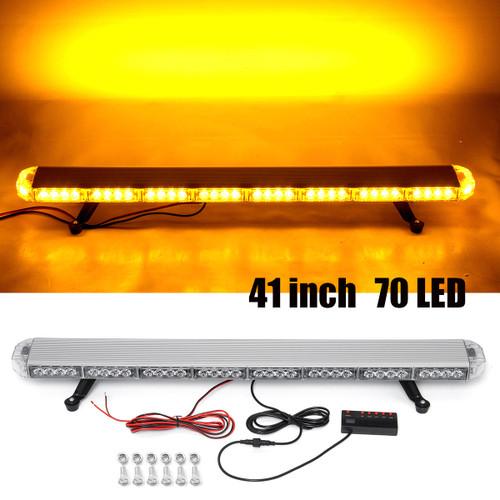 """41 210W LED 12V 24V Truck Car Strobe Light Light Bar Led Bar Flashing Beacon Light Roof Emergency Warning Lamps 21 Modes"""""""