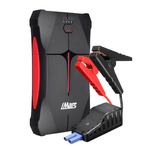 iMars J01 1000A 13800mAh Portable Car Jump Starter Powerbank Emergency Battery Booster Waterproof with LED Flashlight USB Port