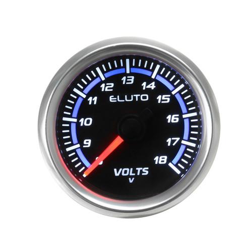 """2 52mm Universal Car Auto Voltmeter Volt Voltage Gauge Meter 8-18V LED Display"""""""