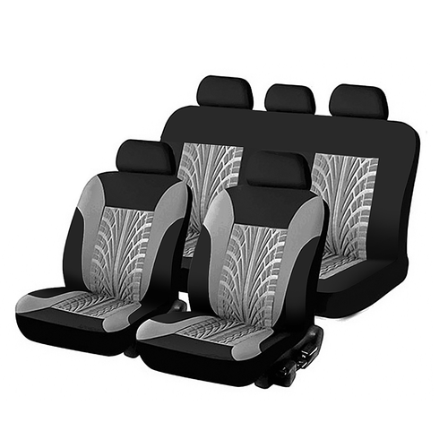 Universal Seat Covers Bench Protector Cushion Tyre Track Embossed