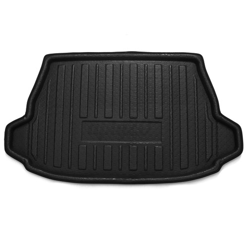 Black Car Rear Trunk Mat Cargo Boot Liner Floor Tray For Toyota C-HR CHR 2017-2019