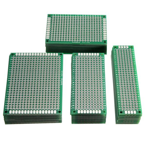 Geekcreit 40pcs FR-4 2.54mm Double Side Prototype PCB Printed Circuit Board