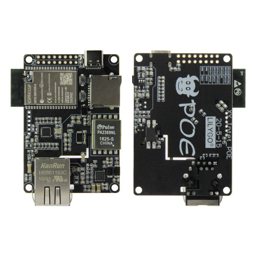 LILYGO TTGO T-Internet-POE ESP32-WROOM LAN8720A Chip Ethernet Adapter And Downloader Expansion Board Programmable Hardware