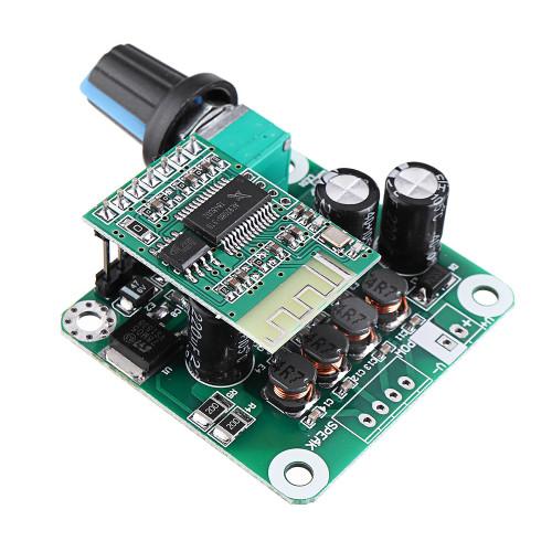 Geekcreit TPA3110 bluetooth 4.2 Digital Amplifier Board 15Wx2 Class D Stereo Power Amplifier DC 8V-26V