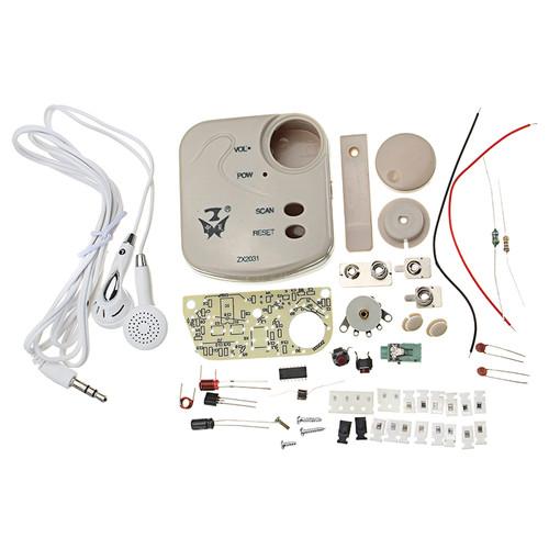 ZX2031 Mini SMD Radio Kit 1.8-3.5V 70KHz FM DIY Electronic Production Kit