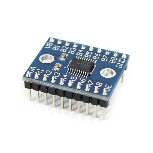 OPEN-SMART Logic Level Shifter Logic Level Converter Voltage Level-Shifting Translator Module 8-Bit Bi-directional