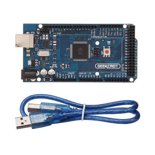 Geekcreit MEGA 2560 R3 ATmega2560 MEGA2560 Development Board With USB Cable
