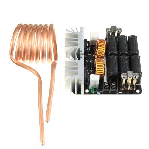 Geekcreit ZVS 12-48V 20A 1000W High Frequency Induction Heating Module Heater Machine