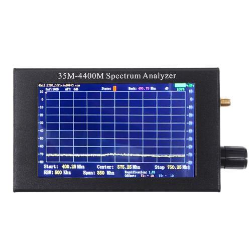 Geekcreit LTDZ 35M-4400M Handheld Simple Spectrum Analyzer Measurement of Interphone Signal